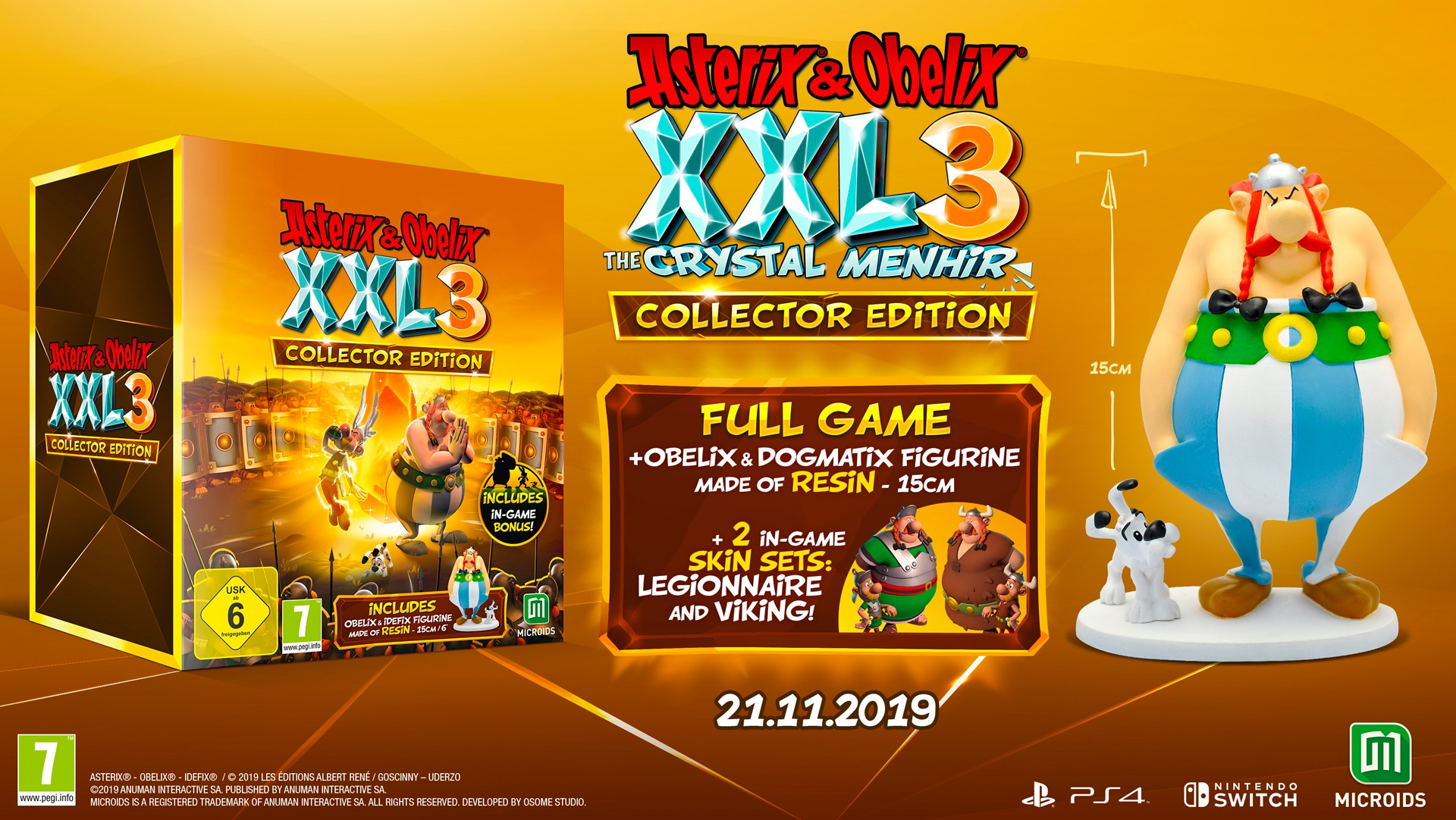 Asterix & Obelix XXL3 - Check out some new screenshots | Microids
